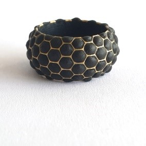 beeswax and gold ring